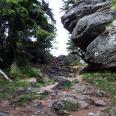 Umrundung der Felsen