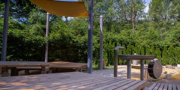 Wasserspielplatz im Naturbad Bad Elster