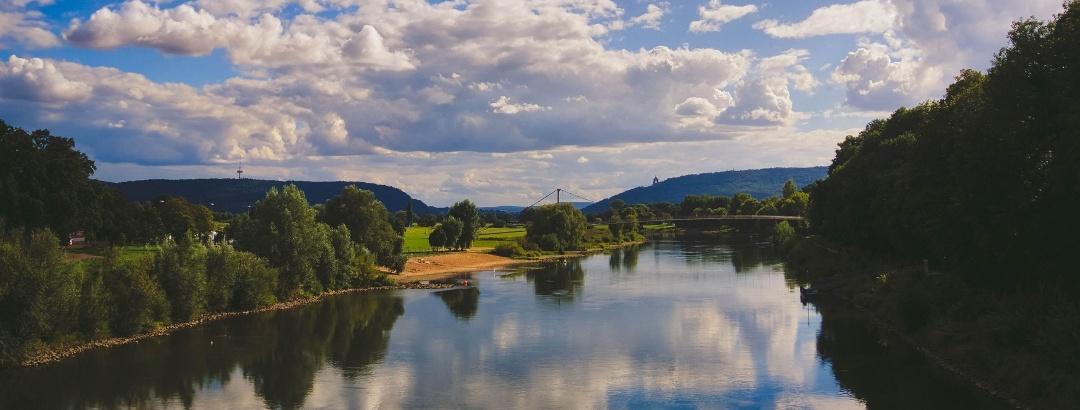 Wandern in Bad Oeynhausen an der Weser