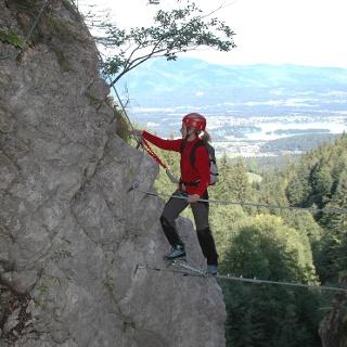 Rotschitza-Klamm-Klettersteig