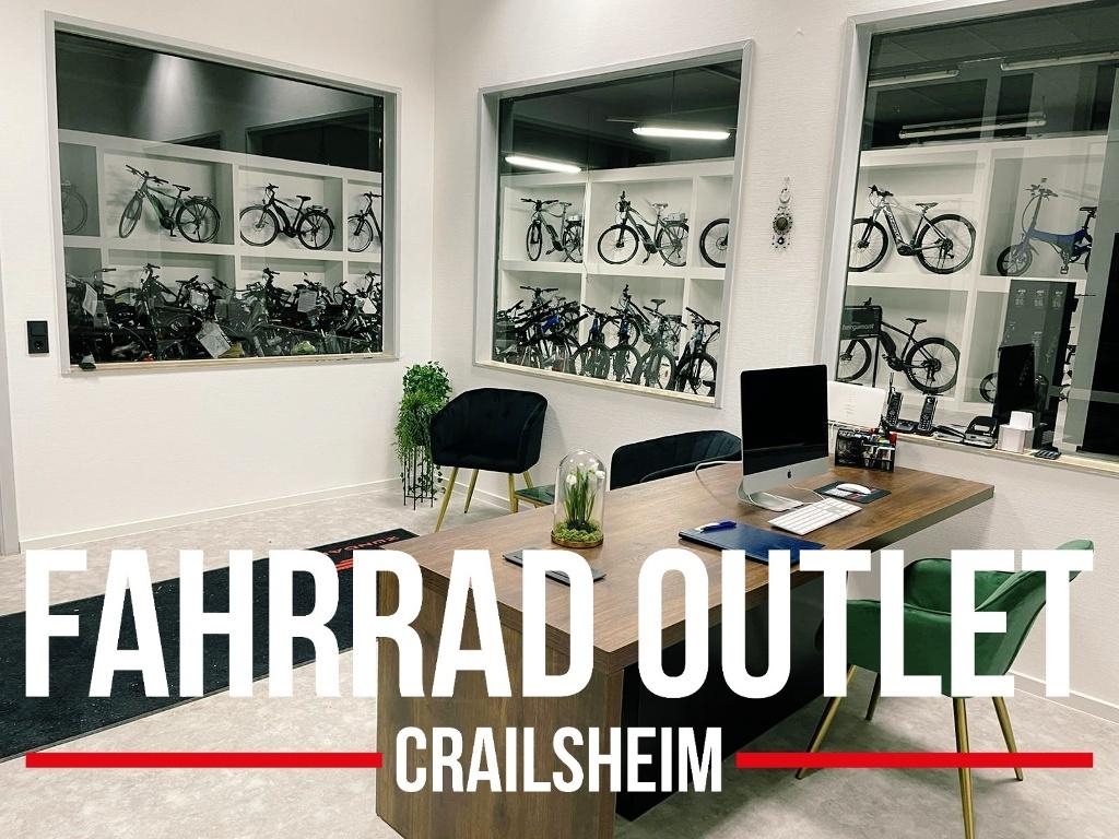Fahrrad Outlet Crailsheim  - @ Autor: Fahrrad Outlet Craisheim  - © Quelle: Hohenlohe + Schwäbisch Hall Tourismus e.V.