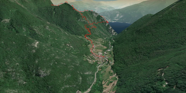 Klettersteig am Gardasee: Via Ferrata Cima Capi / Cima Rocca
