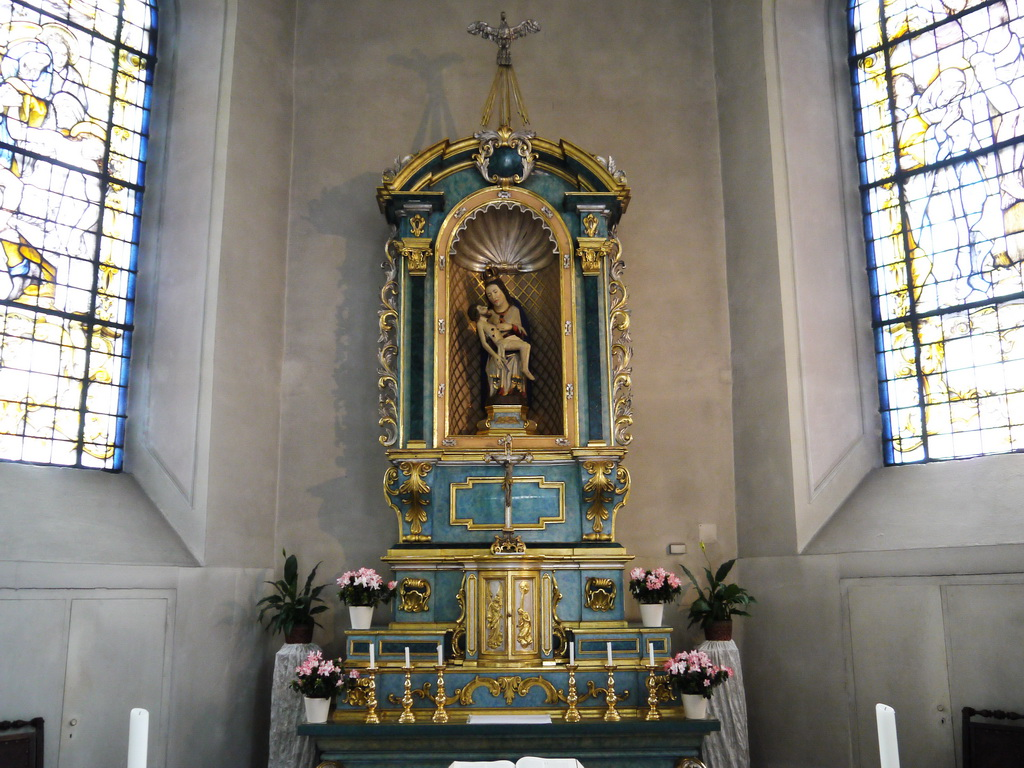 Pieta in der Heilig-Kreuz-Kapelle