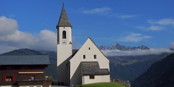 Bartholomäberg, Kuratienkirche zu Unserer Lieben Frau Mariä Unbefleckte Empfängnis und Friedhof 3