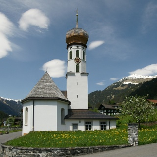 Sankt Gallenkirch, Kuratienkirche Heiliger Nikolaus 1