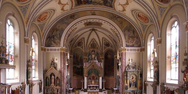 Schruns, Katholische Pfarrkirche Heiliger Jodok 4