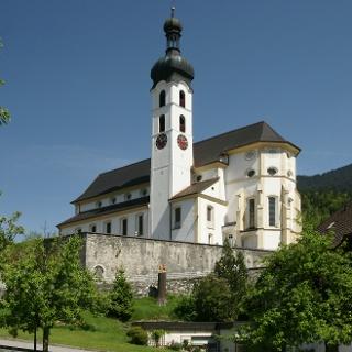 Tschagguns, Katholische Pfarrkirche Unserer Liebe Frau Mariä Geburt mit Friedhof 2