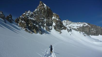 Lisenser Fernerkogel - Blick Richtung Gipfel