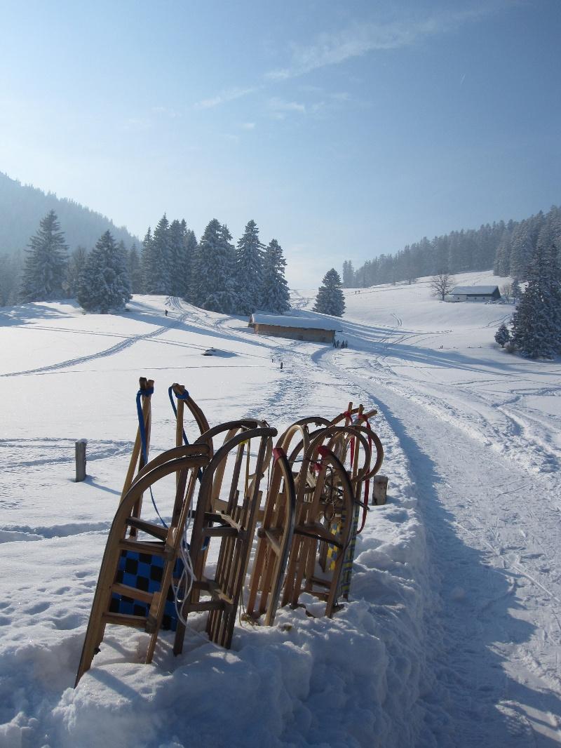 """Winterwandern von Marquartstein aus: """"Winterwanderweg um den Staffn"""""""