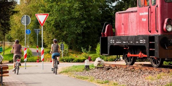 Bei der Lok in Reinsfeld