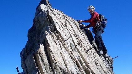 Klettersteig Eggishorn : Klettersteige im wallis die schönsten klettersteig touren in