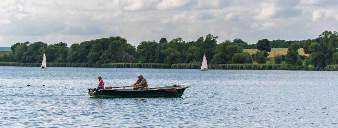 Rudern auf dem Seeburger See