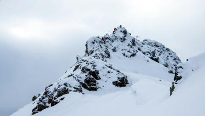 Aufstieg auf die Zamangspitze