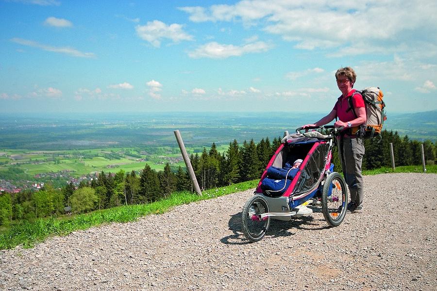Mit dem Kinderwagen auf die Tregleralm (Rundtour)