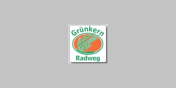Markierungszeichen Grünkernradweg