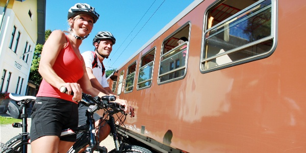Radeln entlang der  Mariazellerbahn