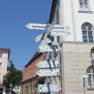 Schilderbaum in Erding, Schrannenplatz