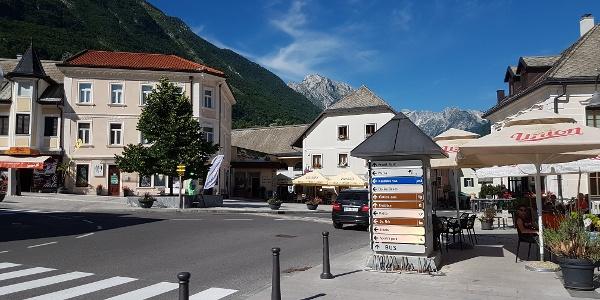 Centre of Bovec