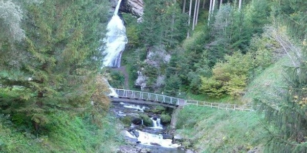 Wasserfall Cavalese