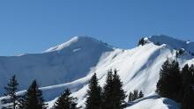 Skirundtour von Grasgehren auf das Riedberger Horn, 1786 m, und Großer Ochsenkopf, 1662 m