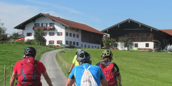 Kneipp Becken Tour  - Höhe Munzing