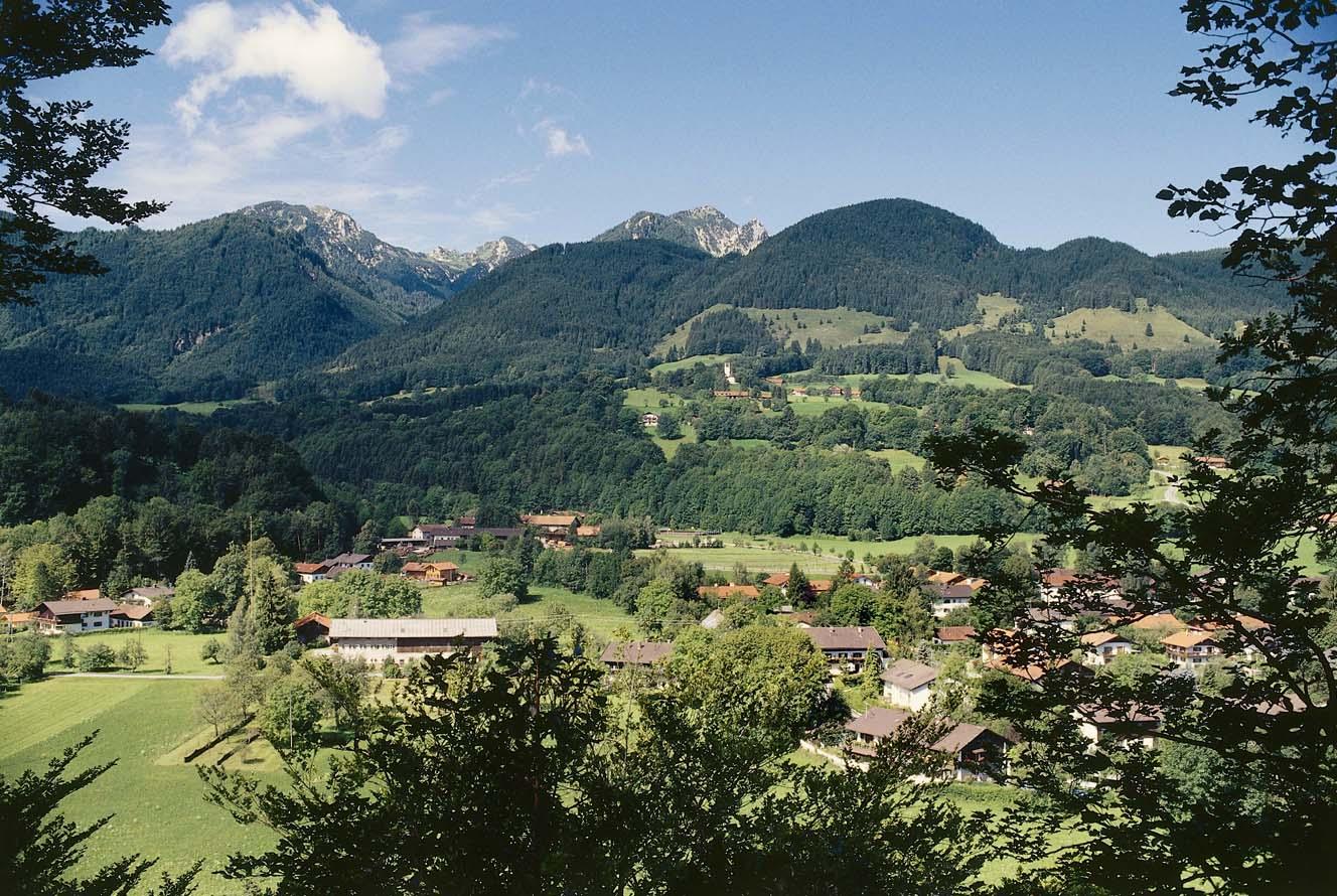 Brannenburg Ortsbild