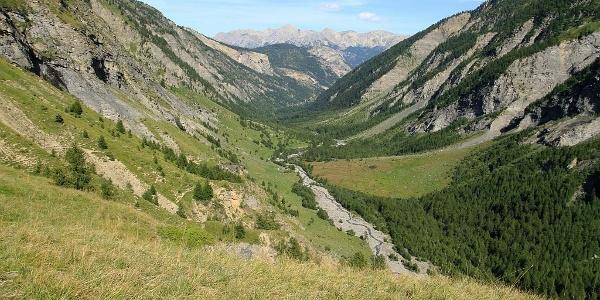 Vallon du Fournel depuis Serre Daurelle