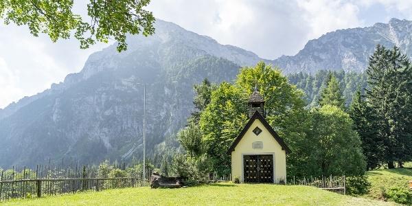 Kapelle auf der Steiner Alm