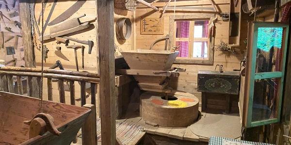Strutz Mühle Mahlwerk