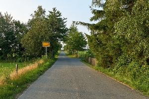 Foto Ortsausgang Cunnersdorf Landweg