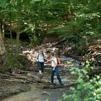 Donoper Teich - Wanderer