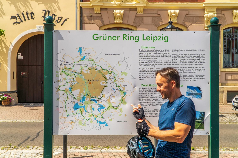 Grüner Ring Infotafel