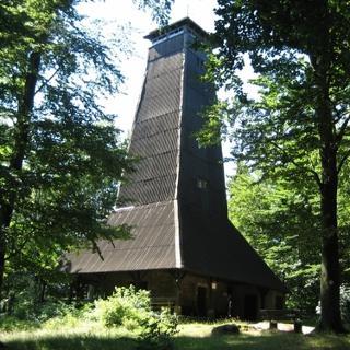 der Ireneturm auf der Tromm
