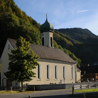 Schnepfau, Katholische Pfarrkirche Heiliger Wolfgang