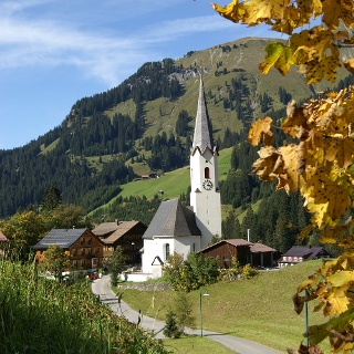 Schröcken, Katholische Pfarrkirche Unsere Liebe Frau Mariä Himmelfahrt 2