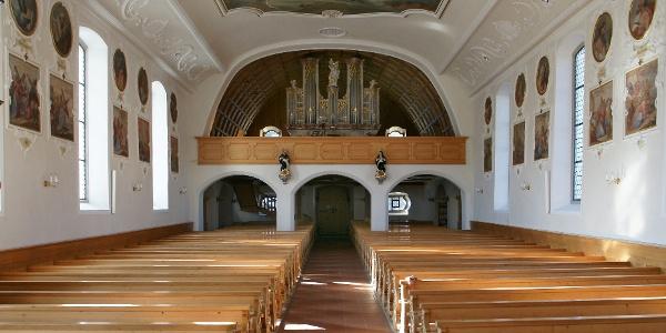 Schwarzenberg, Katholische Pfarrkirche Heiligste Dreifaltigkeit 5