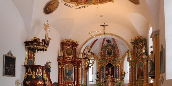 sonntag, Katholische Pfarrkirche Heiliger Oswald und Heiliger Dominikus