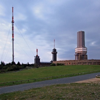 Auf dem Gipfel des Großen Feldbergs