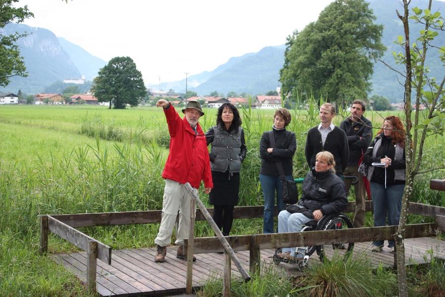 Wandern von Aschau aus - Zum Moor-Frosch ohne Stolperstein