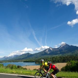 Radfahren am Faaker See