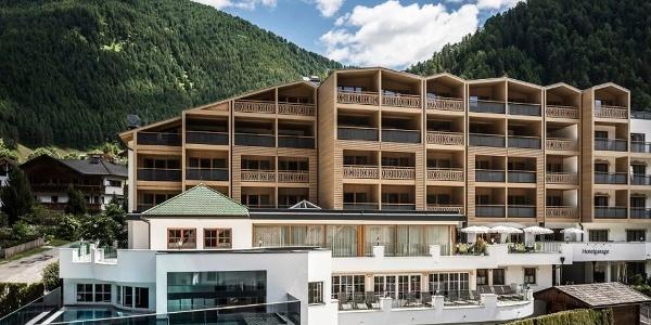 Das Hotel & Spa Falkensteinerhotel **** in Vals am Eingang des Pustertals.