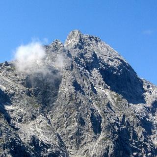 Blick zur östlichen Karwendelspitze