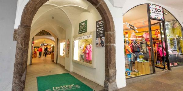 Eingang - CMP Store Meran by Hutter Sport