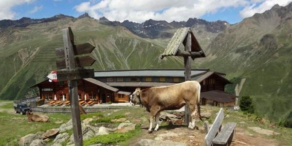 Traumhaftes Freizeitgebiet im Oberen Vinschgau. Die Berghütte Maseben eignet sich als Einkehr und Unterkunft!