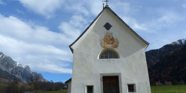 Die St.-Josefs-Kapelle in Antholz Obertal.