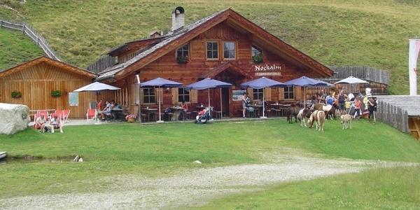 Die Nockalm in der Ferienregion Gitschberg Jochtal lädt zu genüsslichen Stunden ein.