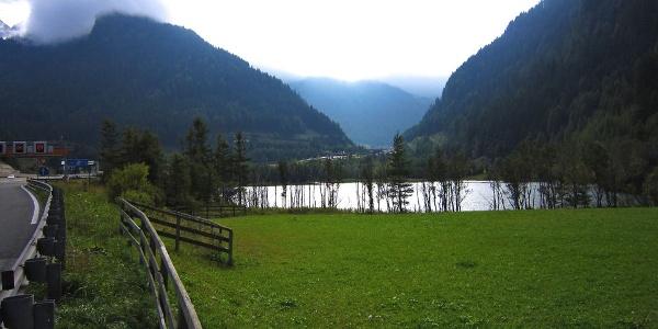 Kurz vor dem eigentlichen Passübergang liegt der kleine Brennersee.
