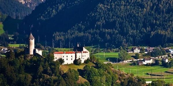Castle Sprechenstein high above Vipiteno
