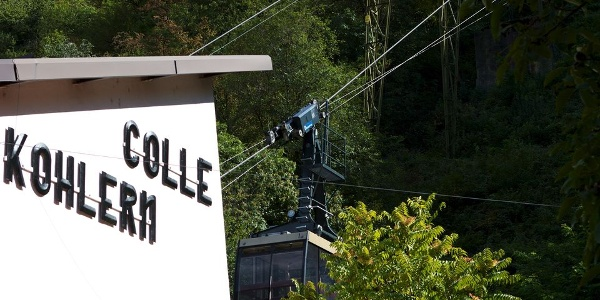 """The cable car from Bolzano up after Colle is the oldest """"proper"""" cable car in the world"""