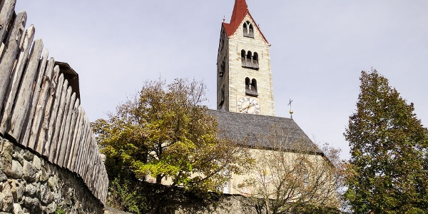 The parish church of St. Nicholas in Albion is in a particularly original village setting